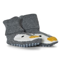 Stella McCartney Kids Penguin Knit Booties 1461