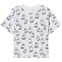 Stella McCartney Kids Ghost Print T-shirt Vit 9083