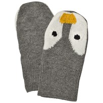 Stella McCartney Kids Penguin Knit Mittens 1461