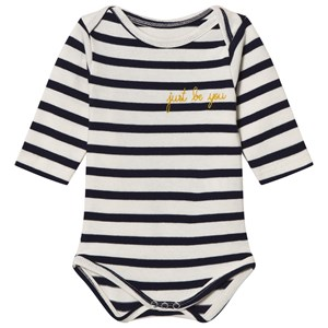 Image of Maison Labiche Just Be You Embroidered Long Sleeve Baby Body 12-18 months (2743735935)