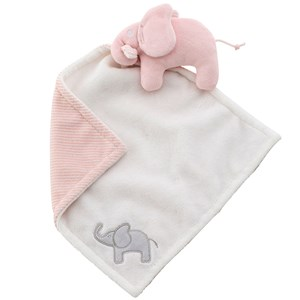Image of Elephant Cuddle Blanket Elephant Pink (2952660703)