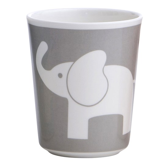 Elephant Melamine Glass Elefant Dark Grey Dark grey