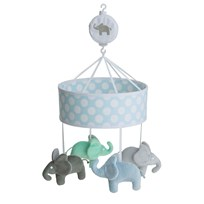 Elephant Musical Mobile Elephant Light Blue Light Blue