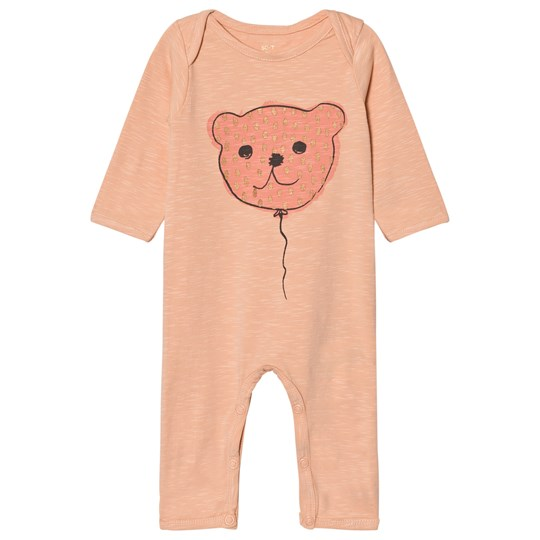 Soft Gallery Baby One-Piece Dusty Pink Dusty Pink, Balloonbear