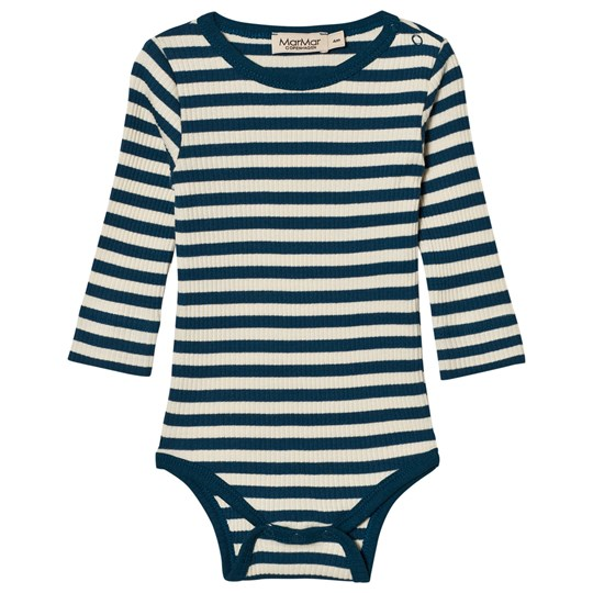 MarMar Copenhagen Plain Body Ls Blue Abyss Stripe BLUE ABYSS STRIPE