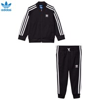 adidas Originals Black Kids Tracksuit Black