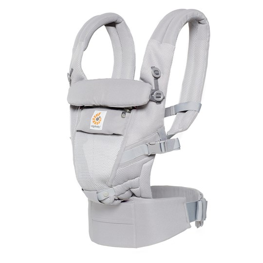 Ergobaby Adapt Baby Carrier Cool Air Mesh Pearl Grey Sort