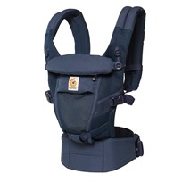 Ergobaby Adapt Baby Carrier Cool Air Mesh Deep Blue Marinblå