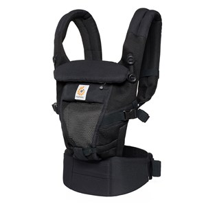 Image of Ergobaby Adapt Baby Carrier Cool Air Mesh Onyx Black One Size (716967)