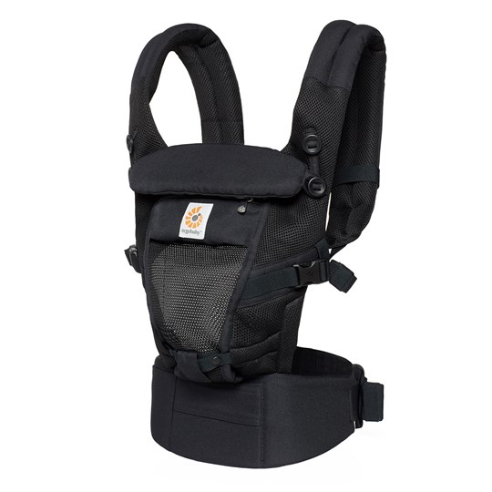 Ergobaby Adapt Baby Carrier Cool Air Mesh Onyx Black Black