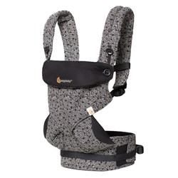 Ergobaby Four Position 360 Baby Carrier Keith Haring Black - Special Edition