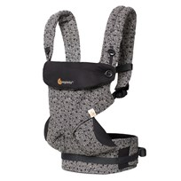 Ergobaby Four Position 360 Baby Carrier Keith Haring Black - Special Edition Black