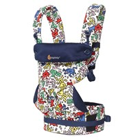 Ergobaby Four Position 360 Baby Carrier Keith Haring Pop - Special Edition Black