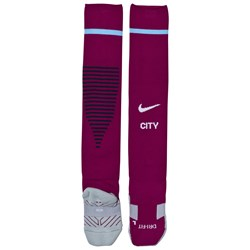 Manchester City FC Red Manchester City  Away Socks
