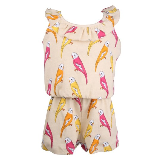 Mini Rodini Budgie Summersuit Beige бежевый