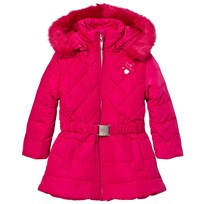 Le Chic Pink Long Jacket with Buckle 242