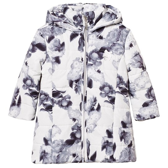 Le Chic Flower Print Jacka Off-White 003