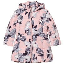 Le Chic Flower Print Long-Line Jacket Soft Pink 215