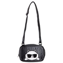 Karl Lagerfeld Kids Black Choupette Shoulder Bag 09B