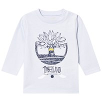 Timberland Pale Blue Tree Logo Long Sleeve Tee 771
