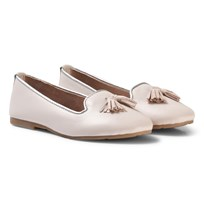 Carrément Beau Pale Pink Tassled Pumps 23F