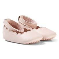 Chloé Pale Pink Scallop Shoes 471