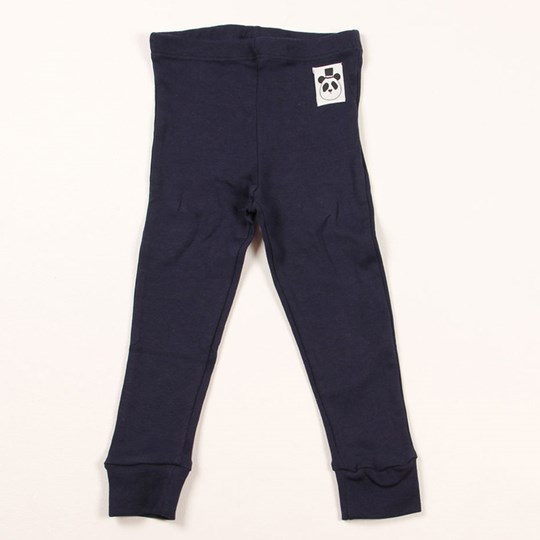 Mini Rodini Basic Leggings Dk Blue Blue