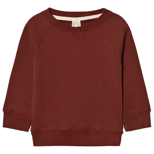 Gray Label Crewneck Sweater Burgundy Burgundy