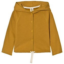 Gray Label Hooded Cardigan Mustard