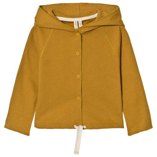 Gray Label Hooded Cardigan Mustard Mustard