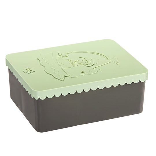 Blafre Lunch Box with 3 Compartments Coast Light Green Lys grønn og grå