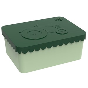 Image of Blafre Lunchbox Tractor Dark Green One compartment (3125343091)