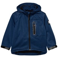 Molo Hogan Soft Shell Jacket Estate Blue Melange Estate Blue Melange