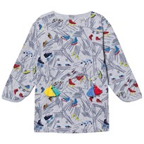 Stella McCartney Kids Fleece Scribble Print Tonya Klänning Grå 1454