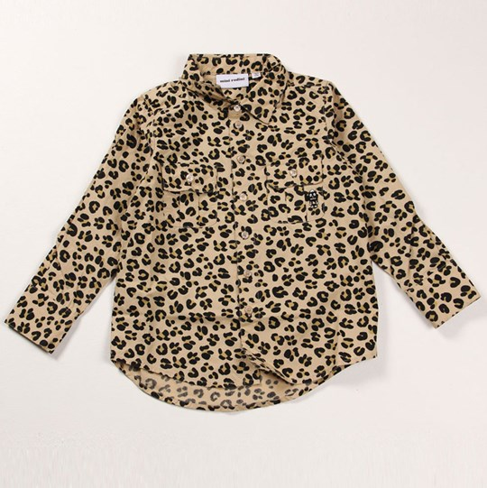 Mini Rodini Jaguar Shirt Beige бежевый