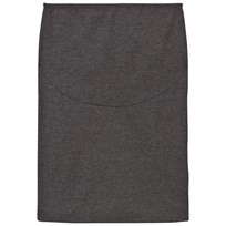 Mom2Mom Pencil Skirt Grey Melange Black