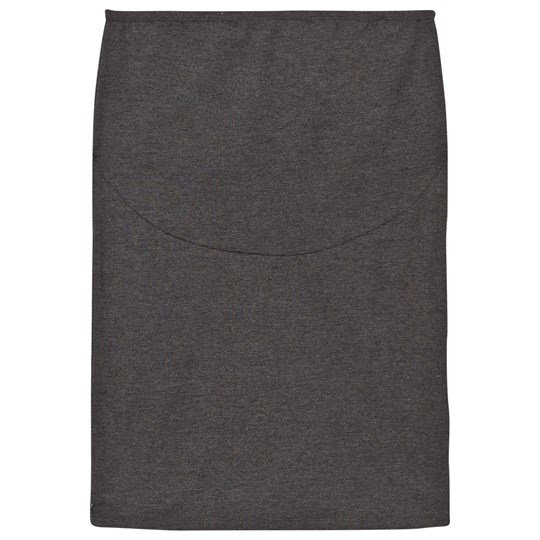 Mom2Mom Pencil Skirt Grey Melange Sort