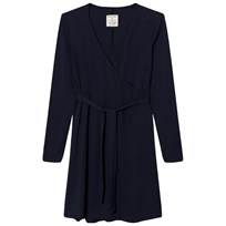 Mom2Mom Wrap Dress Navy Navy