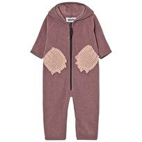 Molo Udo Fleece Onesie Purple Mist Purple Mist