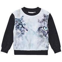 Molo Regine Sweatshirt Snow Cats Snow Cats