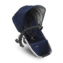 UPPAbaby VISTA RumbleSeat Taylor (Indigo) - Silver Frame Silver