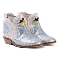 Stella McCartney Kids Pale Pink Swan Lily Boots 5769