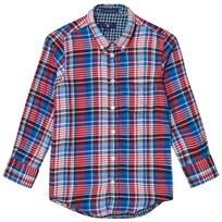 Gant Red and Blue Double Face Oxford Shirt 620
