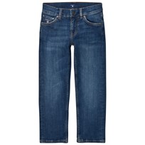 Gant Blue Mid Wash Slim Jeans 971