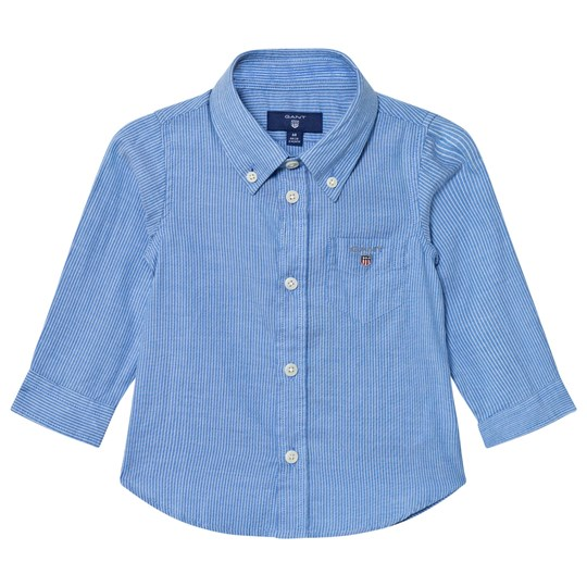 GANT Blue Oxford Stripe Shirt 424