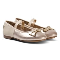 Mayoral Gold Sparkle Ballet Pumps 53
