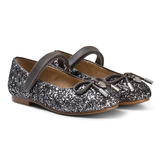 Mayoral Glitter Bow Mary Janes 28