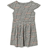 Gardner and the gang Swirl Dress Grey Black