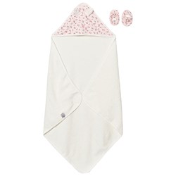 Petit Bateau Towel and Slippers Pink