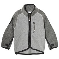 Molo Rock Fleece Jacket Grey Melange Grey Melange